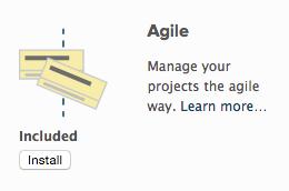 Ist die Agile-App installiert?