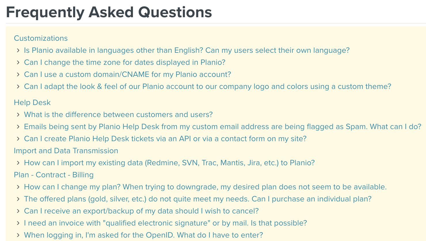 Create Your Own Faq Section Based On Help Desk Templates