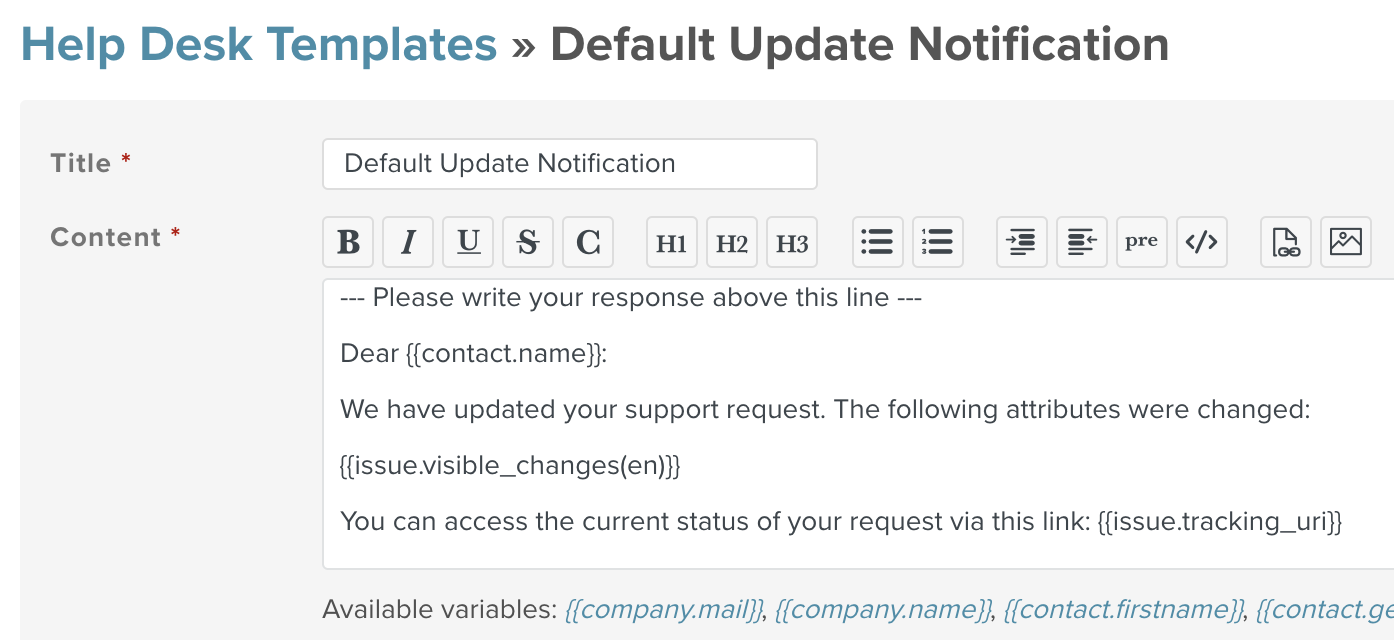 Prepare An Automated Update Notification For Your Contacts